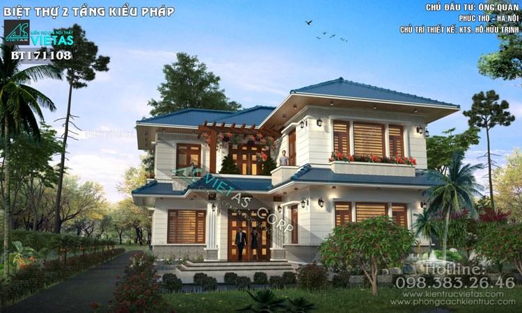 biet thu 2 tang kieu Phap dep ong Quan Phuc Tho_bt171108 (4)